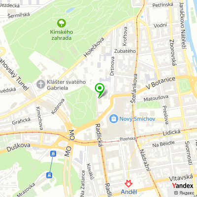 Plicní ambulance MUDr. Ivana Stachová na mapě