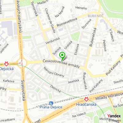 Autosalon SIMIX na mapě