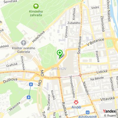 Klinika plastické a estetické chirurgie Perfect Clinic na mapě