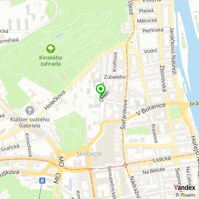 Střední odborná škola, Praha 5 na mapě