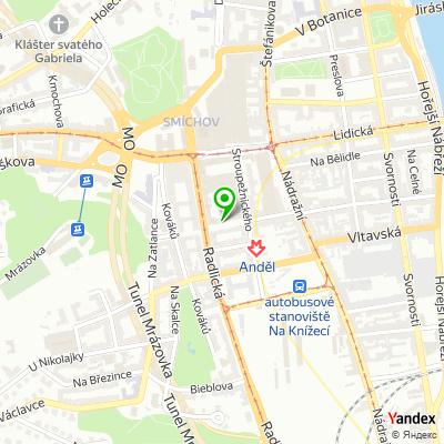 Realitní kancelář Rent Office na mapě