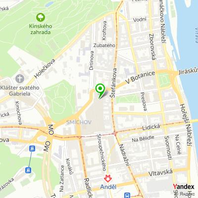 Obchod iSETOS-Apple Premium Reseller na mapě