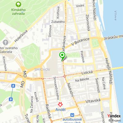 Úřad městské části, Praha 5 na mapě