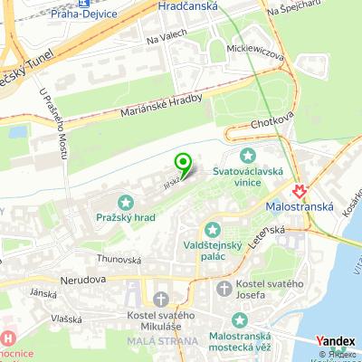 Kavárna Rožmberský palác na mapě