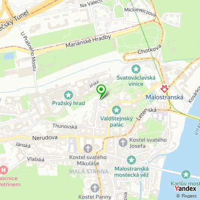 Středisko sociálních služeb, Praha 1 na mapě