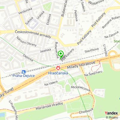Restaurace Dejvická sokolovna na mapě