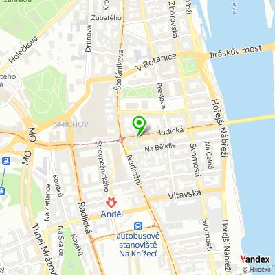 Restaurace Hlubina na mapě