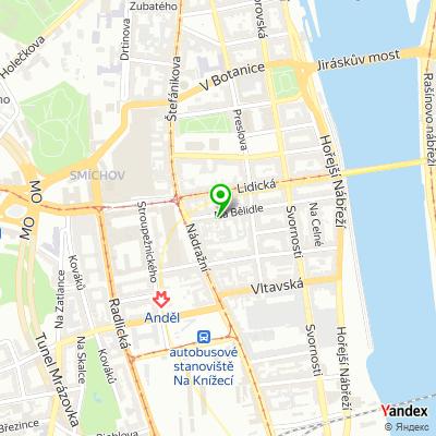 Pohřební ústav Elpis na mapě