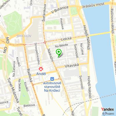 Advokátní kancelář Volf a partneři na mapě