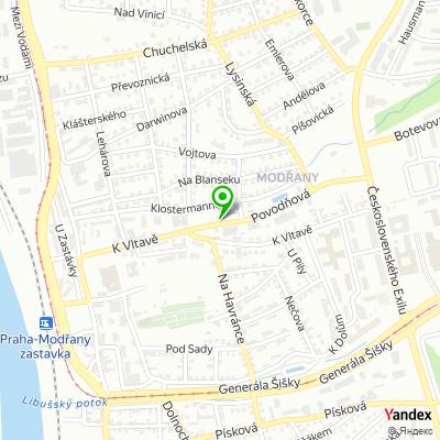 Tenisový areál Tenis Centrum Tempo na mapě
