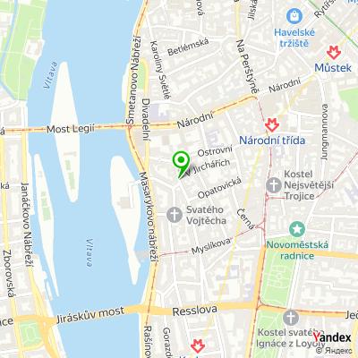 Restaurace U Nováka na mapě
