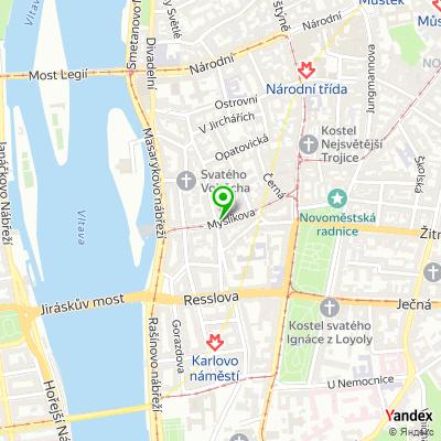 Obchod Dione na mapě