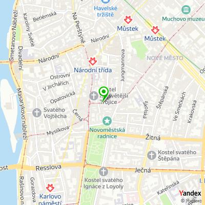 Poradenská společnost BREDFORD Consulting na mapě
