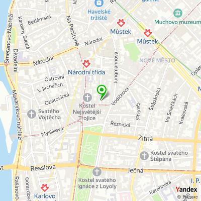 Kavárna Kafe Komedie na mapě