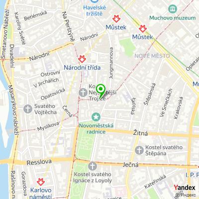 Galerie Lazarská na mapě
