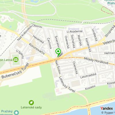 Ordinace praktického lékaře PragMed na mapě
