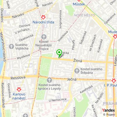 Hotel Praga 1 na mapě