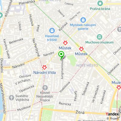 Společnost Pražské služby na mapě