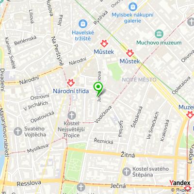 Personální agentura Randstad na mapě