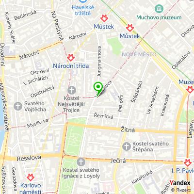 Síť obchodů TIMO na mapě