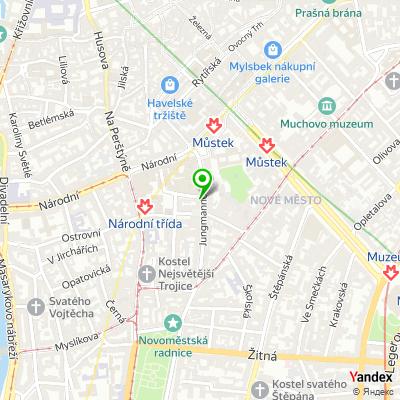 Bistro Pasha Kebab na mapě