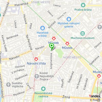 Fitness centrum Power Plate na mapě