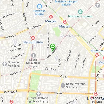 Centrum jógy Yogajoga na mapě