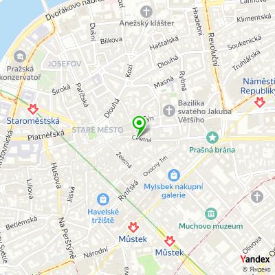Síť obchodů SWAROVSKI na mapě