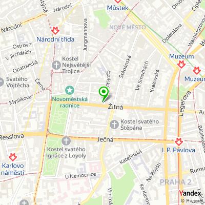 Taneční škola Moschna na mapě