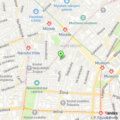 Agentura Atep na mapě
