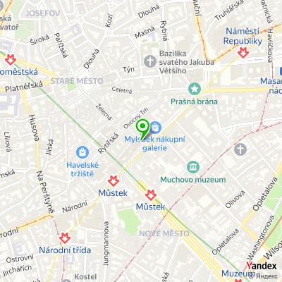 Síť obchodů ZARA na mapě