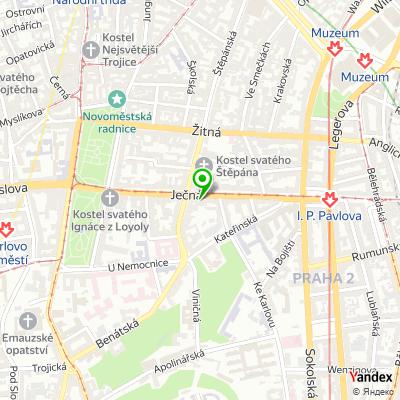 Realitní kancelář Pragus na mapě