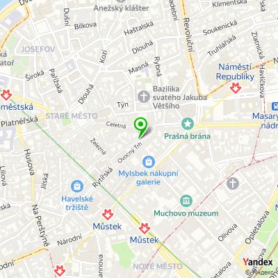 Zprostředkovatelská společnost FLEXI OFFICE na mapě