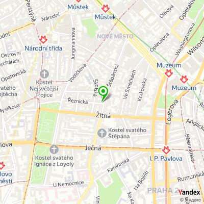 Advokátní kancelář Poupětová a Poupě na mapě