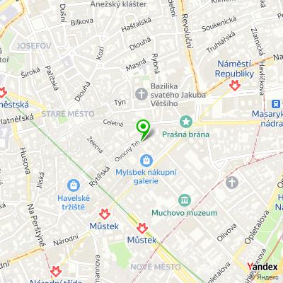 Společnost Verdi Capital na mapě