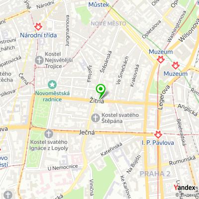 Obchod T-LED na mapě