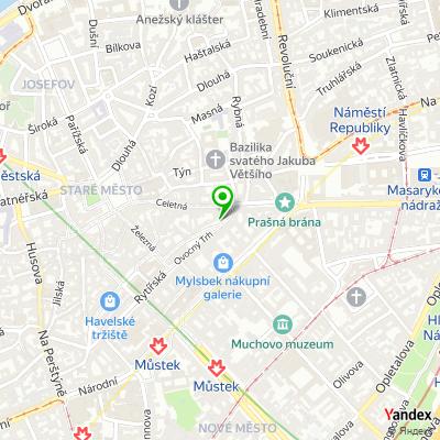 Reklamní agentura Fruit factory na mapě