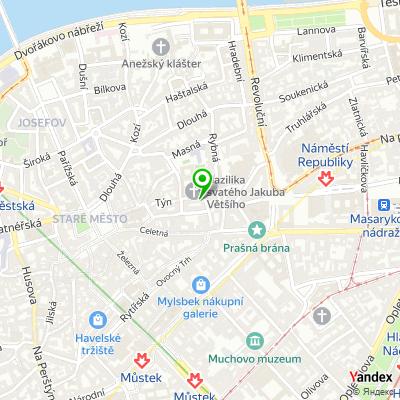 Obchod KLTT na mapě