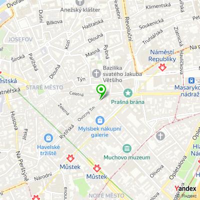 Galerie Kubista na mapě