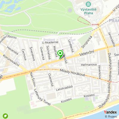 Vzorková prodejna Orta studio na mapě
