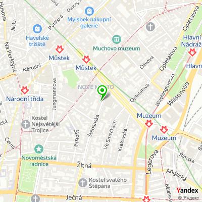 Zprostředkovatelská společnost Wia na mapě