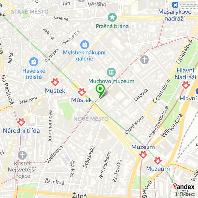 Společnost Pro Bank Security na mapě