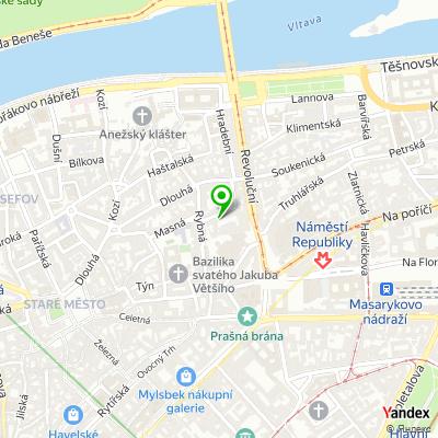 Pražská organizace vozíčkářů na mapě