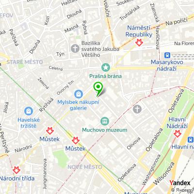 Společnost Intercash, s.r.o. na mapě