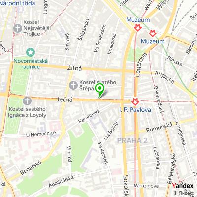 Bankomat, Fio banka, a.s. na mapě