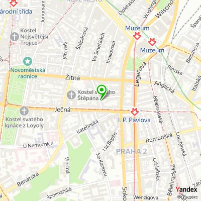 Personální agentura People Place & Partners na mapě