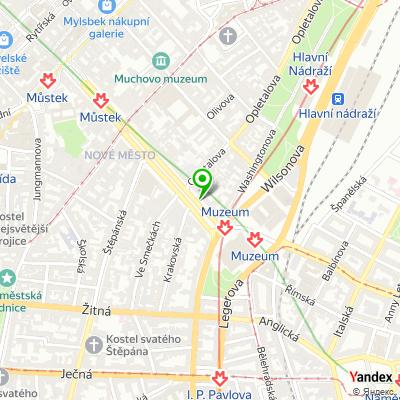 Developerská společnost UNIMEX GROUP na mapě