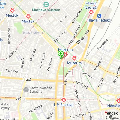 Společnost THS na mapě