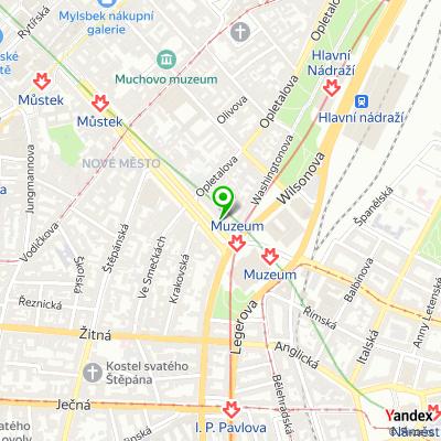 Stavební společnost ZLX na mapě