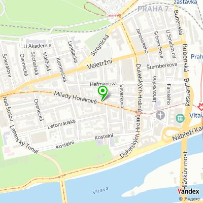 Pořadatelská společnost Running Mall na mapě
